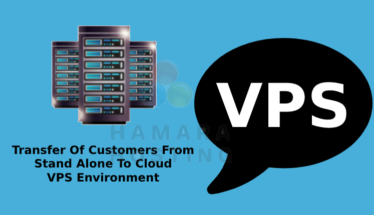Transfer of Customers From Stand Alone to Cloud VPS Environment