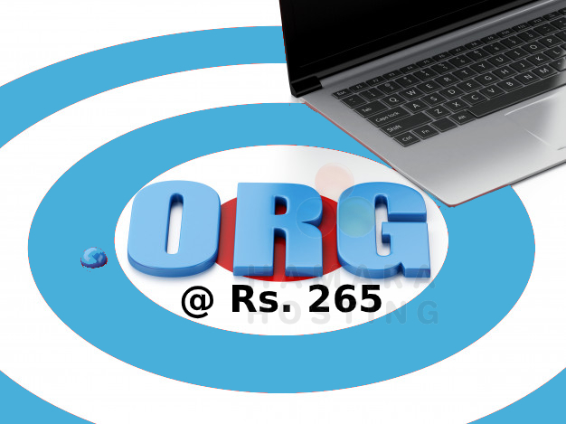 .ORG @ Rs. 265