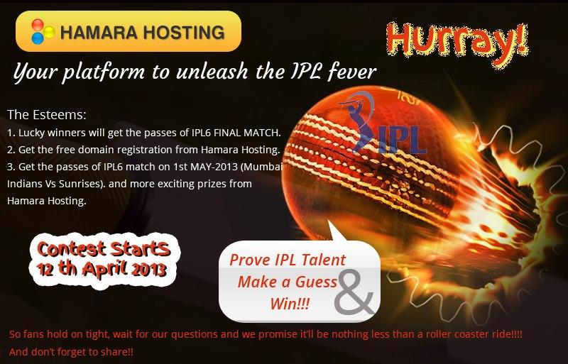 Hamarahosting  provides exclusive esteems on IPL6