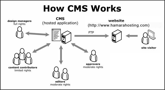 CMS Working Steps