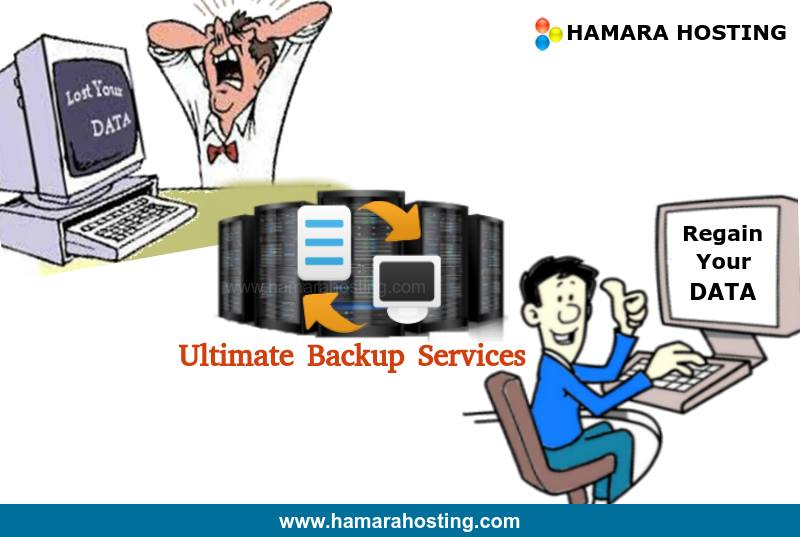 Back Up Services at Hamara Hosting