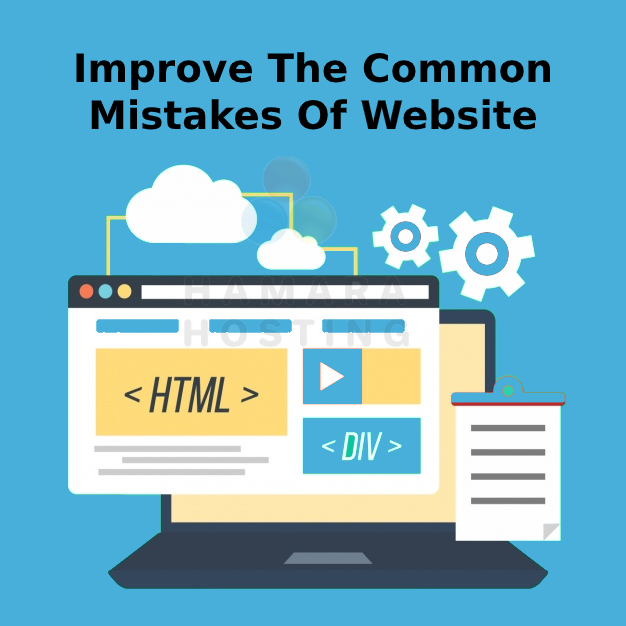 Improve the Common Mistakes of Website