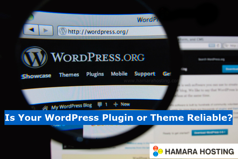 WordPress Plug-in Theme Reliable